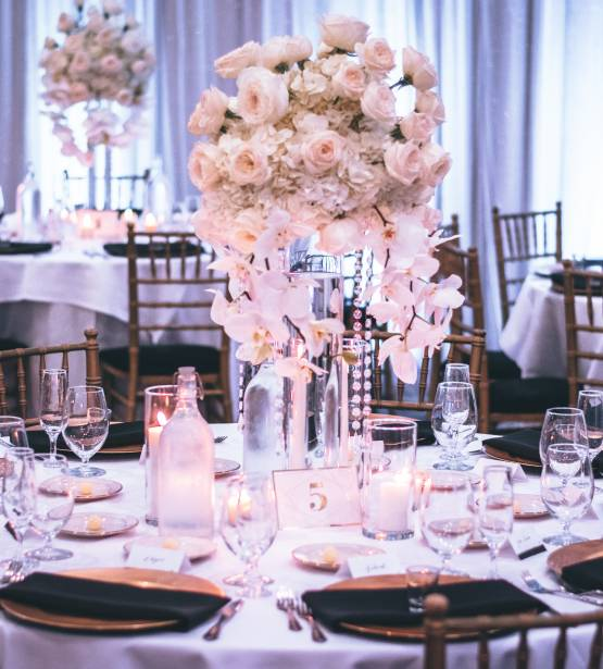 Banquets Candlelights Chairs 1616113