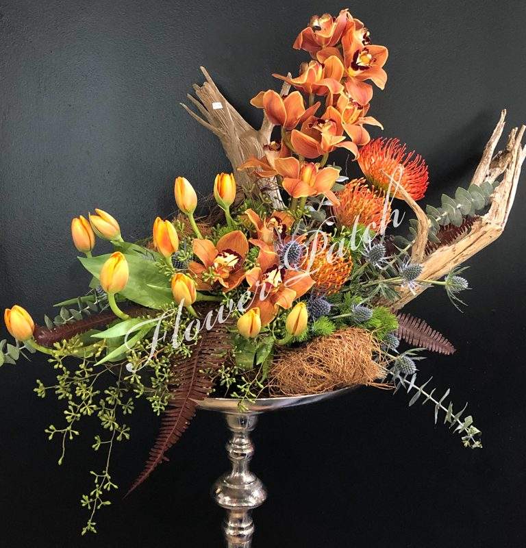 Orange Spring Arrangement