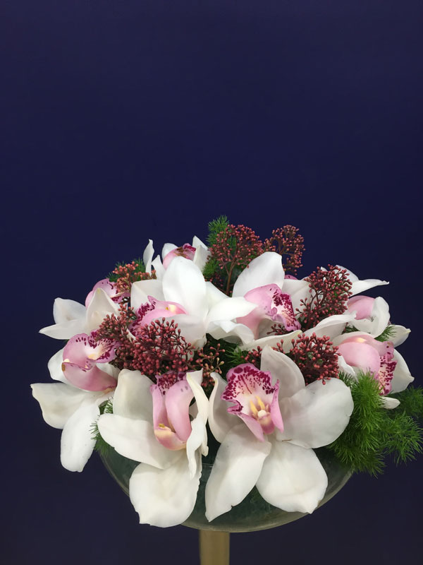 Pink And White Spring Arrangement